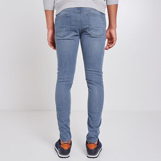 Jean Skinny bleu-grisé