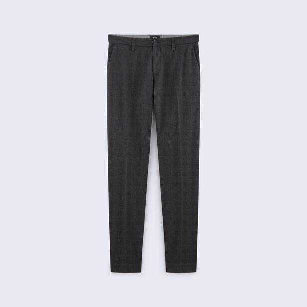 Pantalone Chino slim a quadri