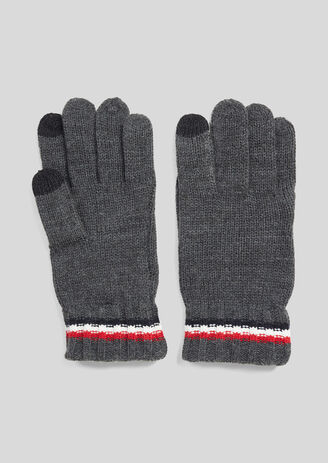 Gants maille tactile