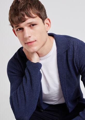 Vest in tricot