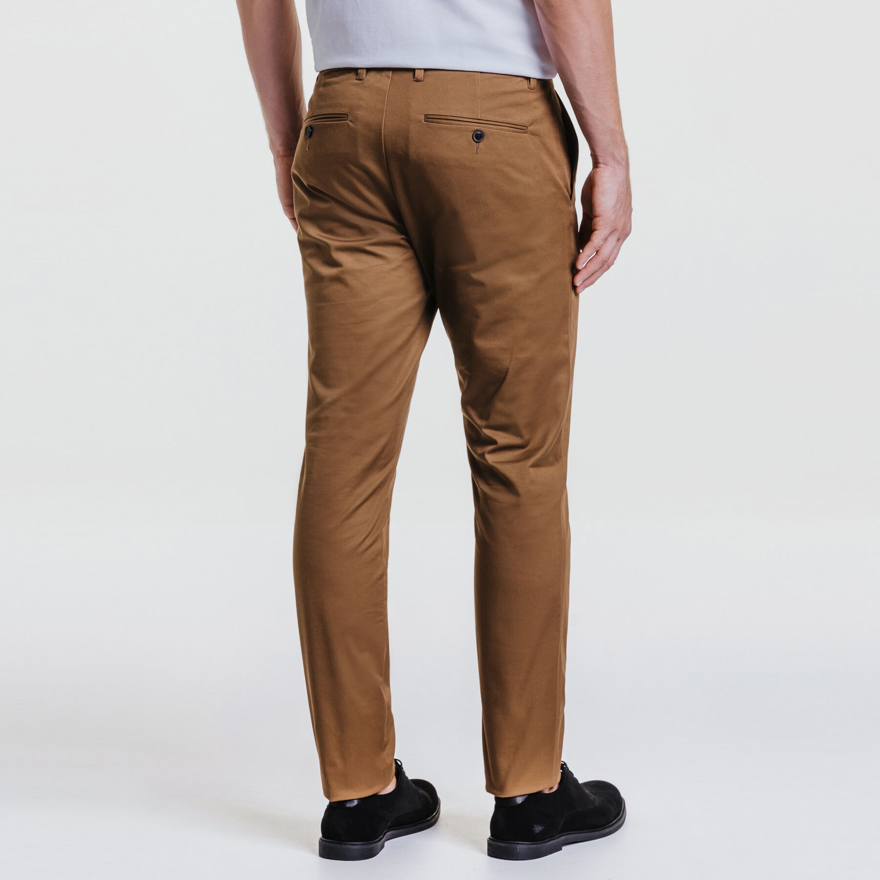 Pantalon Camel Stretch Coton Slim Chino Homme Jules CtxBQdrsh