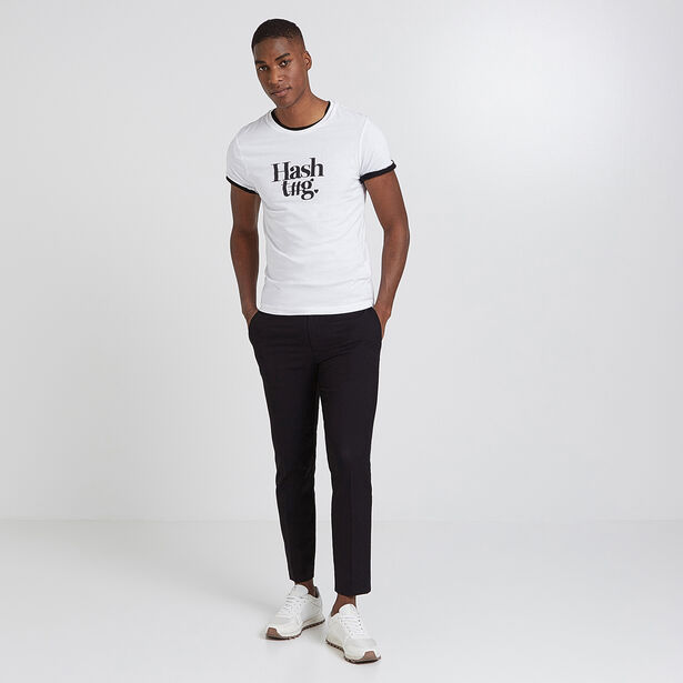 Tee shirt message mixte