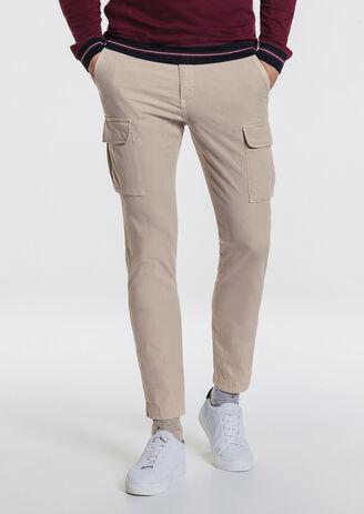 Pantalone slim battle