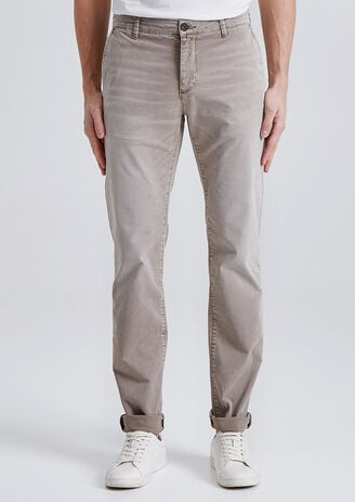 Chino Slim garment dyed