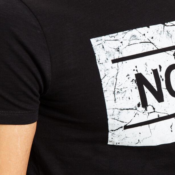 T-shirt imprimé ton sur ton