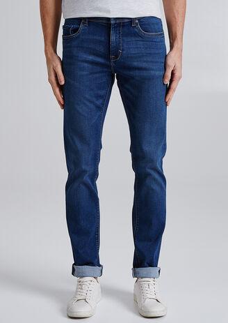Slim jeans Urbanflex, gewassen