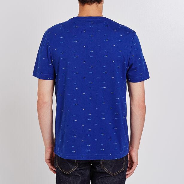 tee shirt imprimé micro motif