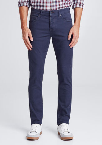 Pantalon 5 poches slim
