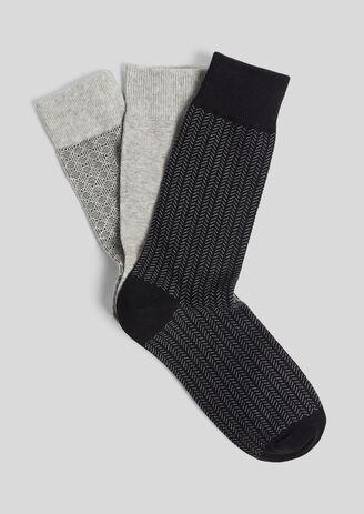 Lot de 3 paires de chaussettes Homme fantaisies
