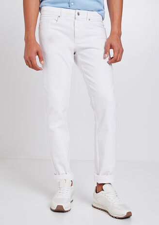Jean Straight Blanc