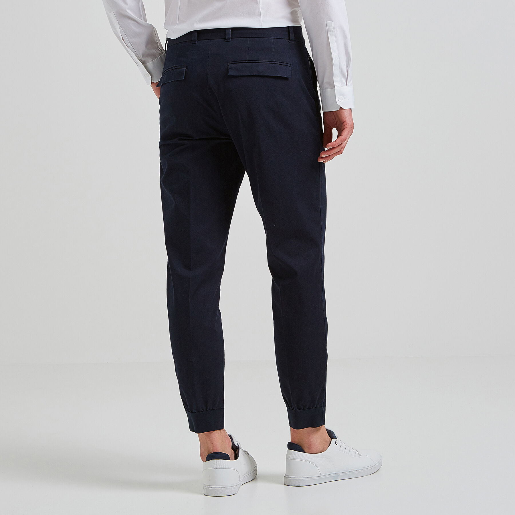 3843309ca8ff6 Pantalon jogging Bleu Marine Homme - Jules