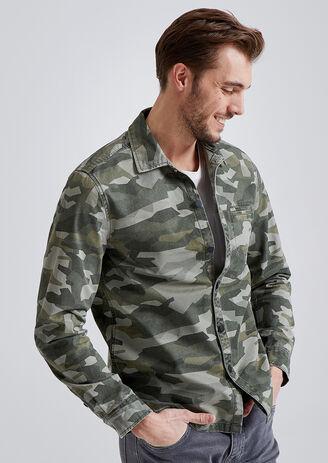 Surchemise motif Camouflage