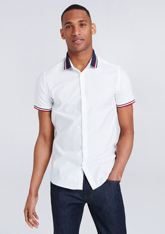 Chemisette Slim détail Polo