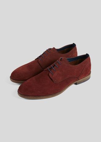 SOFT schoenen in suèdeleer