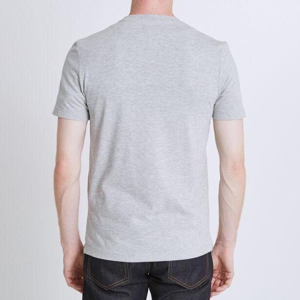 T-shirt ronde hals, opdruk 'NASA'