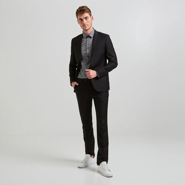Veste de costume slim noir