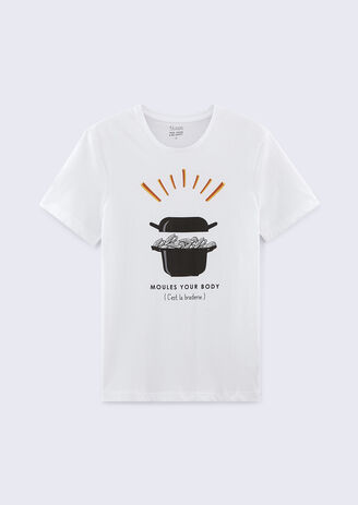 Tee shirt spécial braderie moules - frites