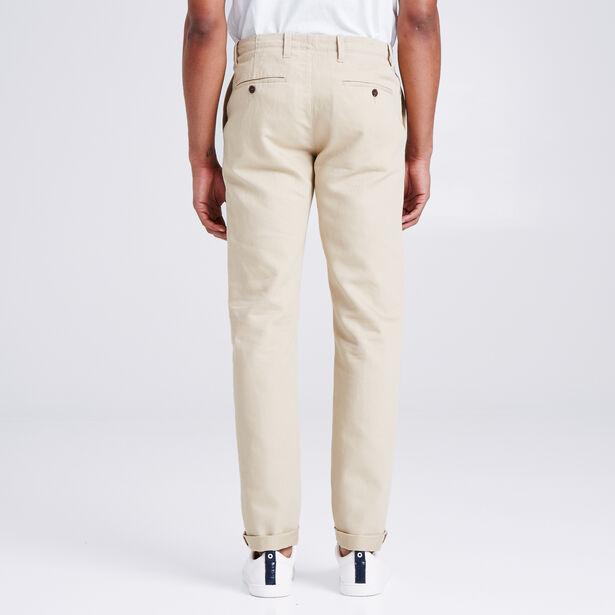 Chino Slim Coton/lin