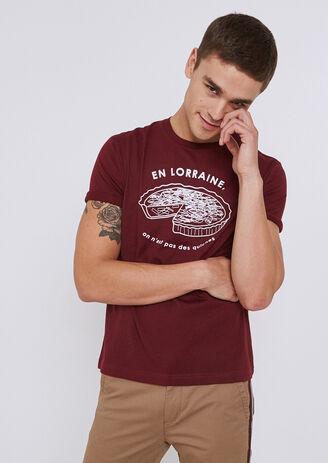 Tee shirt imprimé région Lorraine