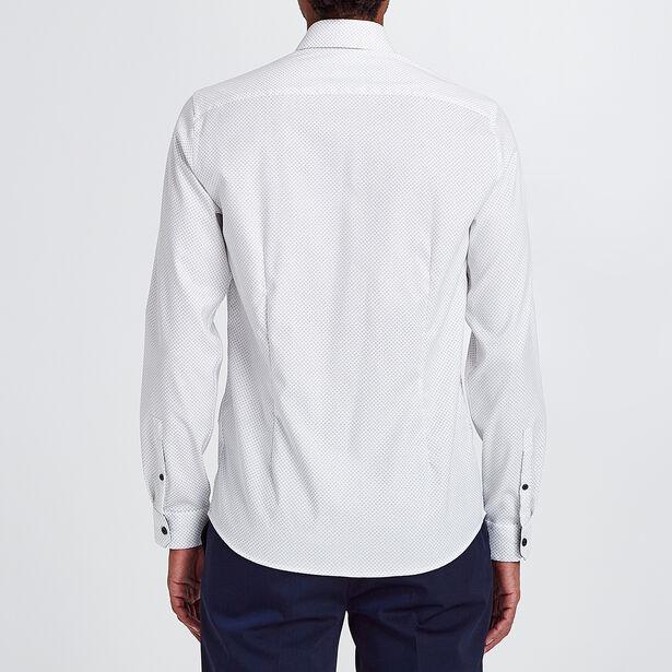Slim hemd met print