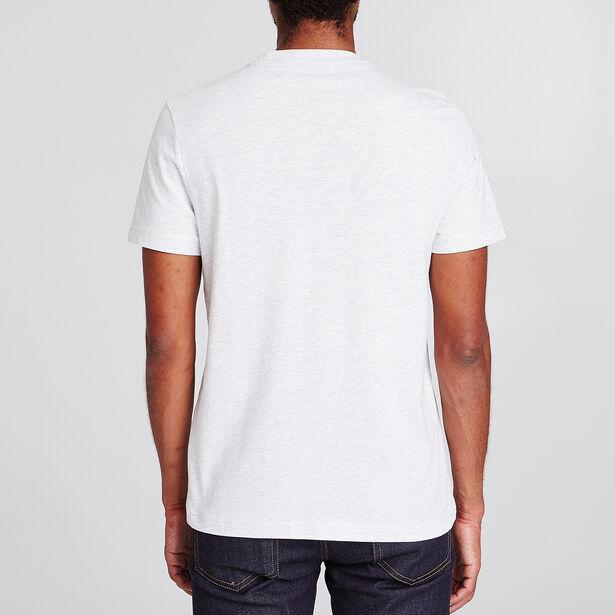 Tee shirt col rond imprimé apéro