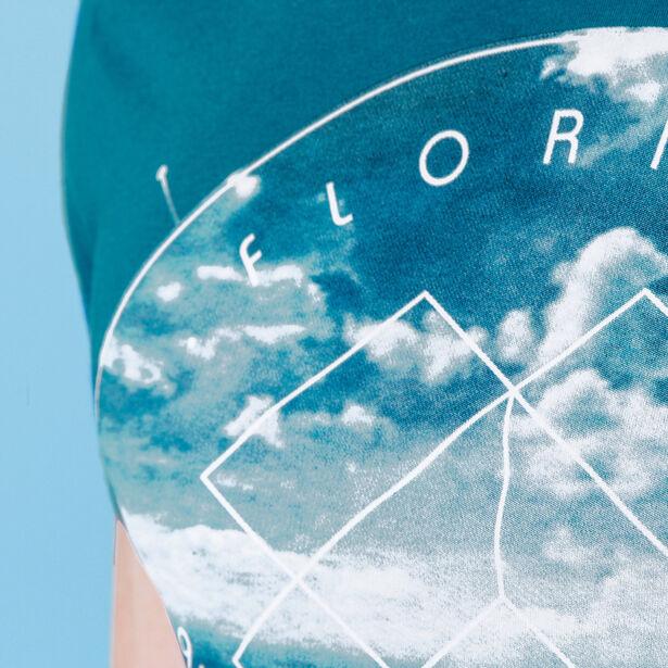 "T-shirt col rond imprimé ""Florida"""