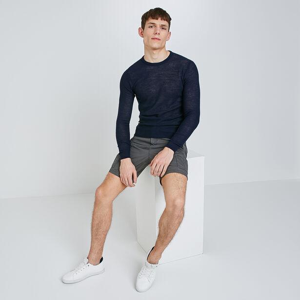 Linnen trui in fijn tricot