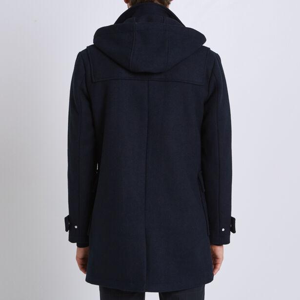 Duffle Coat con cappuccio amovibile