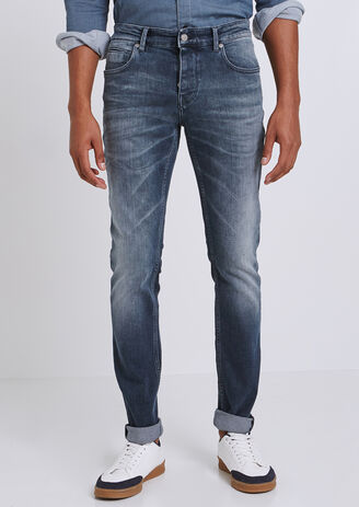 Jeans Slim sbiadito