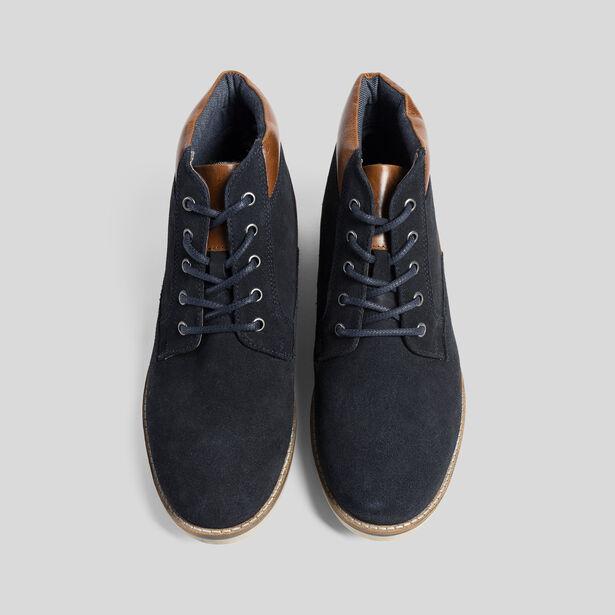 Hoge leren schoenen WALK