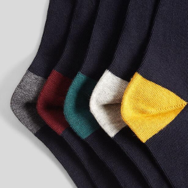 Lot de 5 chaussettes Homme fantaisies