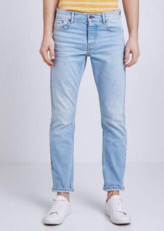 Straight jeans, gewassen