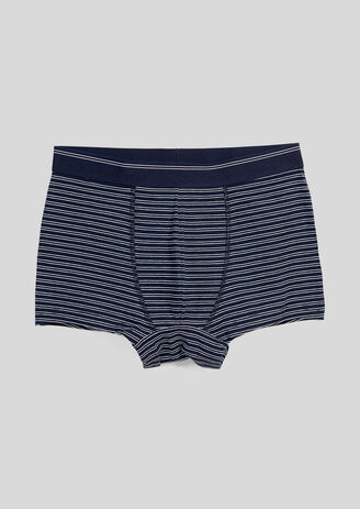 Boxer homme unitaire a doubles rayures
