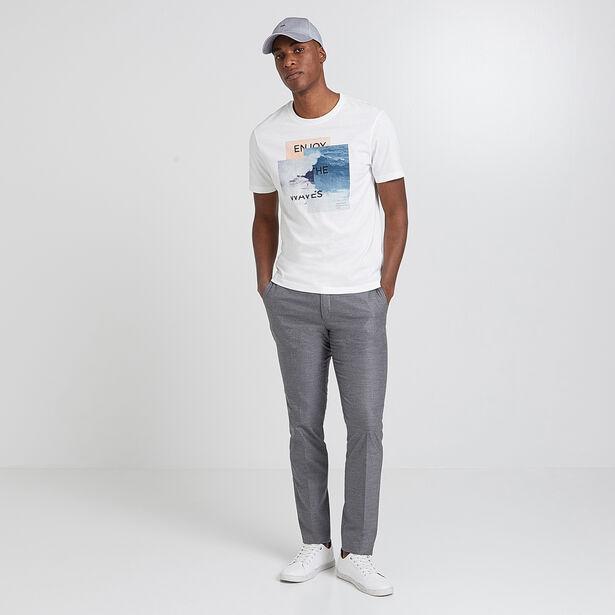 Tee shirt photoprint vagues