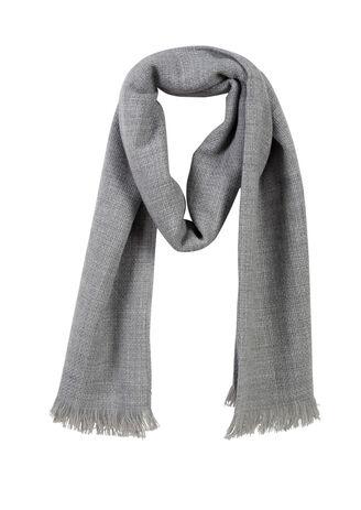 Effen sjaal, ketting en inslag