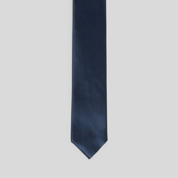 Cravate réversible slim