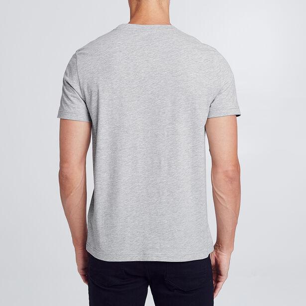 T-shirt met zwart-wit fotoprint