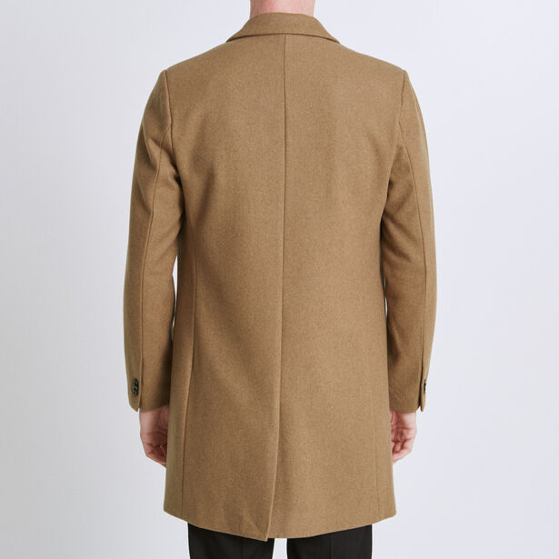Manteau essentiel lainage