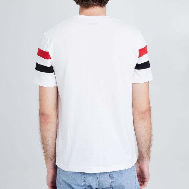 "Tee shirt col rond imprimé ""Recast 90"""