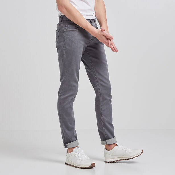 Slim Urbanflex jeans, donkergrijs