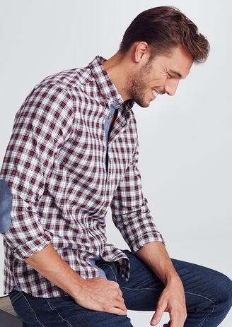 Recht geruit hemd