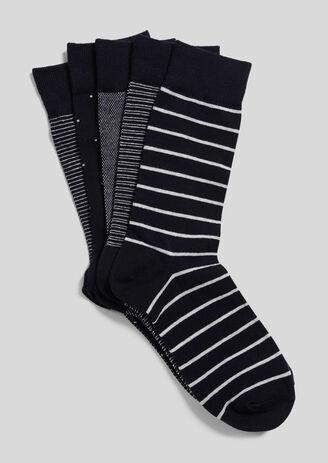 Lot de 5 paires de chaussettes fantaisies