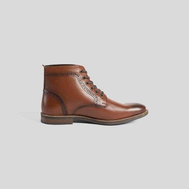 Boots in glad kalfsleer