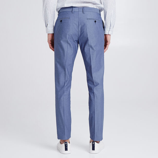 Pantalon de costume effet denim