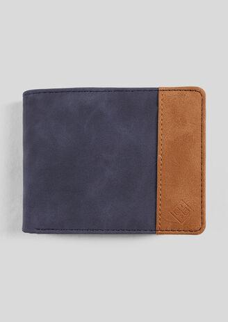 Zwarte portefeuille, twee stoffen