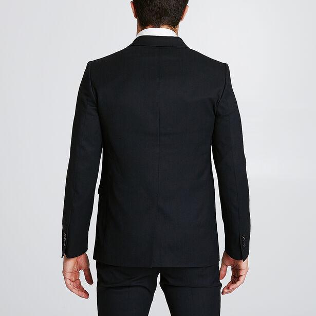 Veste de costume coupe droite pochette poitrine la