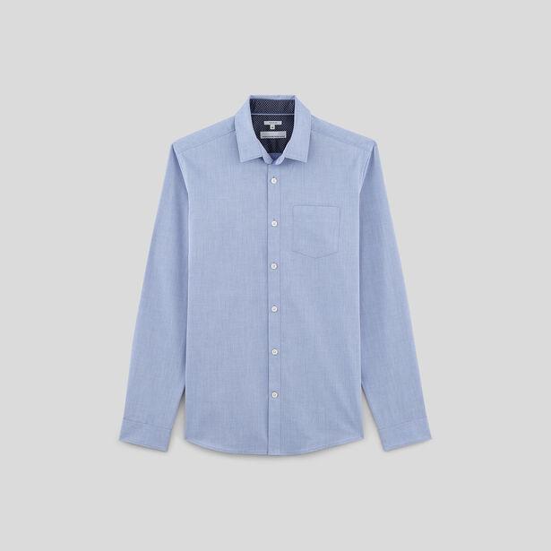 chemise regular repassage facile bleu moyen homme jules. Black Bedroom Furniture Sets. Home Design Ideas