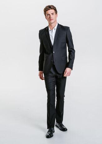 Costume ajusté noir