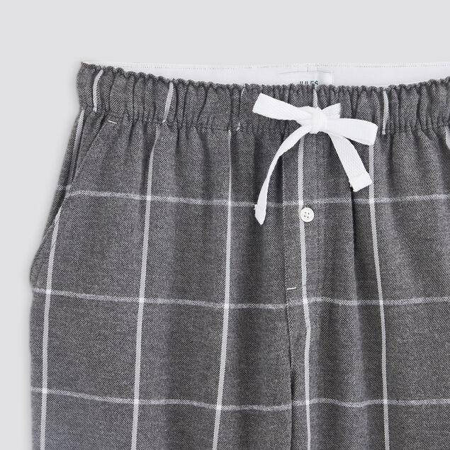 Pantalon de pyjama à carreaux
