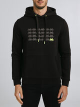 Sweat à capuche SPACE INVADERS